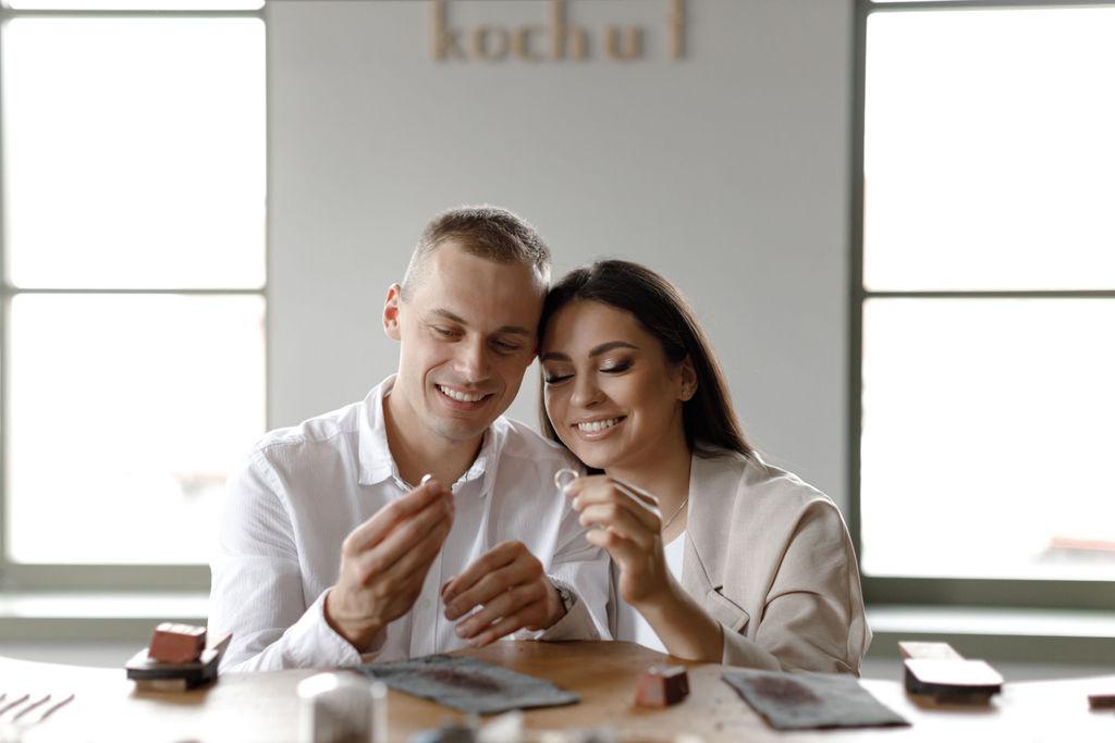 """Рекламна зйомка для ювелірного бренду """"Kochut"""" від """"Zoom studio"""" Zoom Studio"""